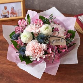 【日比谷花壇】【お供え用】O・SO・NA・E flower「8月のオリジナルアレンジメント」
