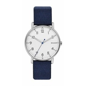 【当店1年保証】スカーゲンSkagen  Men's  SKW6356 Signatur Blue Nylon Watch