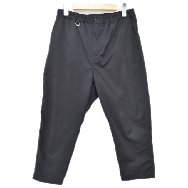 SOPHNET. 18AW アンクルイージーパンツ CROPPED WIDE ANKLE CUT EASY PANT ブラック サイズ:S (アメリカ