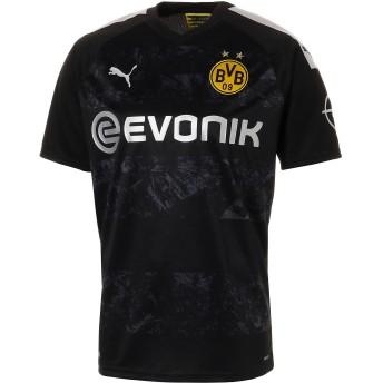 【プーマ公式通販】 プーマ ドルトムント BVB SS アウェイ レプリカシャツ 半袖 メンズ Puma Black |PUMA.com
