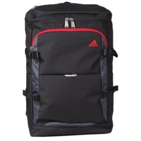 (Bag & Luggage SELECTION/カバンのセレクション)アディダス リュック スクエア 大容量 24L A3 adidas 47838 チェストベルト付き スクールバッグ/ユニセックス ブラック系1