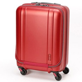 静音キャスター搭載の超軽量スーツケース ZER2094-46MTWI マットワイン [約35L]