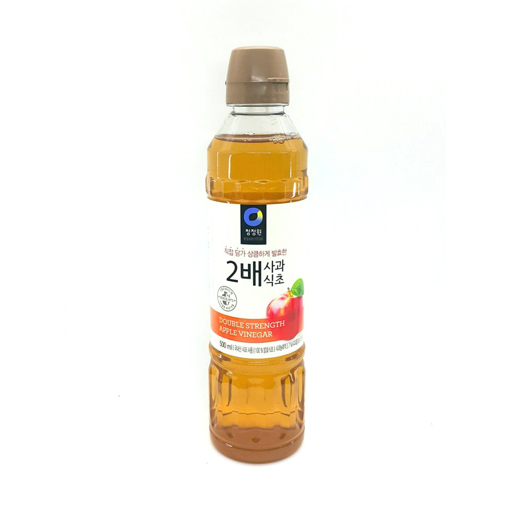 韓國大象 清淨園 2倍蘋果醋 蘋果醋 500毫升 料理用