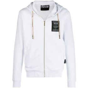 Versace Jeans Couture ジップアップ パーカー - ホワイト