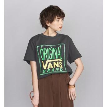 【ビューティアンドユース ユナイテッドアローズ/BEAUTY&YOUTH UNITED ARROWS】 【別注】<VANS(バンズ)>ネオンカラーロゴTシャツ