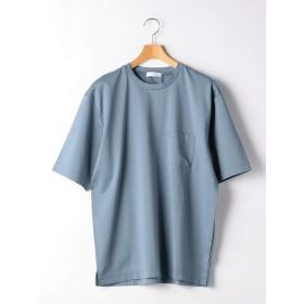 (ユナイテッドアローズ グリーンレーベル リラクシング) CM ハイゲージポンチ クルー Tシャツ 32172254624 7570 COBALT(75) L