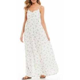 ロキシー レディース ワンピース トップス Brilliant Stars Floral Maxi Dress Marshmallow