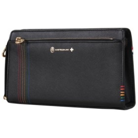 (Bag & Luggage SELECTION/カバンのセレクション)カステルバジャック シェスト セカンドバッグ ハンドバッグ メンズ 牛革 027222/ユニセックス ブラック