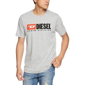 (ディーゼル) DIESEL ロゴTシャツ T-JUST-DIVISION T-SHIRT 00SH0I0CATJ XL (XL) グレー 912