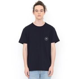(グラニフ) graniph コラボレーション Tシャツ オールオーバー (ケイトギブ) (ネイビー) メンズ レディース S (g01) (g14) #▲