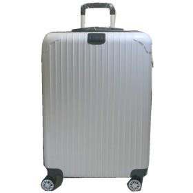 スーツケース キャリーケース mサイズ 61リットル 超軽量 24インチ dj24 ホワイト Transporter (ホワイト)