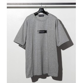 Kappa(カッパ) ボックスロゴTシャツ kpt-942w グレーXXL