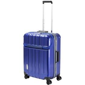 トラストップ MLサイズ キャリーケース 76-20410 トップオープン TSAロック 軽量 63L 4.9kg 12.ブルー