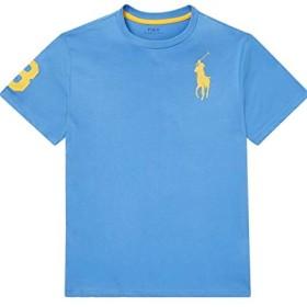 (ポロ ラルフローレン) POLO RALPH LAUREN Tシャツ 半袖 【RL50005 Mサイズ ハーバーブルー】 ボーイズ (小さめサイズ) ビッグポニー ラルフ 並行輸入品