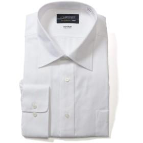 サカゼン HYBRIDBIZ 大きいサイズ メンズ HYBRIDBIZ TRAVELER 超形態安定 レギュラーカラー 長袖 ワイシャツ RELAX BODY A柄ホワイト / 4L