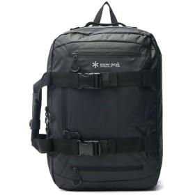 ギャレリア スノーピーク snow peak Business Bag 3WAYブリーフケース ビジネスリュック ショルダー UG 729 ユニセックス ブラック F 【GALLERIA】