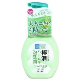 ロート製薬 肌ラボ 極潤 ハトムギ泡洗顔 160ml