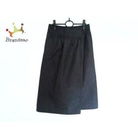 トリココムデギャルソン tricot COMMEdesGARCONS 巻きスカート レディース 美品 黒  値下げ 20190915