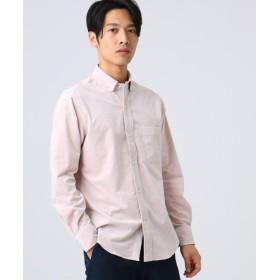 ドレステリア 細コーデュロイボタンダウンシャツ メンズ ベビーピンク(071) 92(L) 【DRESSTERIOR】