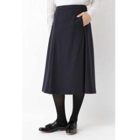【HUMAN WOMAN:スカート】◆ファインフラノスカート