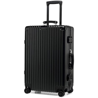 kroeus(クロース)スーツケース キャリーケース ABS+PCボディ 革製ハンドル 復古主義 エンボス加工 TSAロック搭載 海外旅行 出張 Sサイズ機内持ち込可 1年間保証付き S