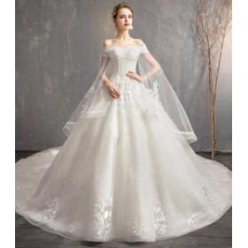 ウエディングドレス/ロングドレス/パーティードレス/披露宴ドレス/結婚式/二次会/花嫁/超可愛い/人気新品 WS-609