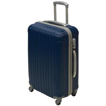 JOYme スーツケース 超軽量 傷が目立ちにくい エンボス 加工 キャリーケース キャリーバッグ 機内持込 S M L (ネイビー, S)