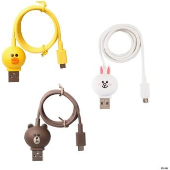 充電&データ Micro USBケーブル|LINE FRIENDS(ラインフレンズ)サリー