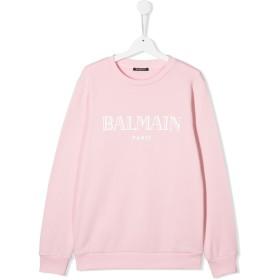 Balmain Kids ロゴ スウェットシャツ - ピンク