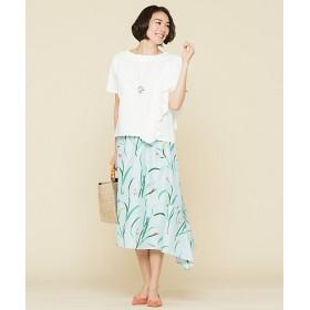 【SALE(伊勢丹)】<自由区> studio HARLEQUIN SHOCK FULL IRIS スカート(検索番号E22)(SKWMYM0330) スカイブルー 【三越・伊勢丹/公式】