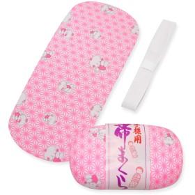七五三 小物セット 7歳 女の子 着付け小物 3点セット (帯板 帯枕 三重紐) 7kom-set09