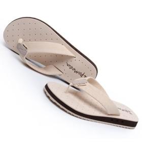 [XINXIKEJI]ビーチサンダル トングサンダル メンズ おしゃれ 無地 25.0~27.0cm EVA  夏用靴 厚底 防水 通気 滑り止め 耐磨 痛くない 疲れない 履きやすい 普段履き 海 海水浴 プール ベージュ 26.5cm