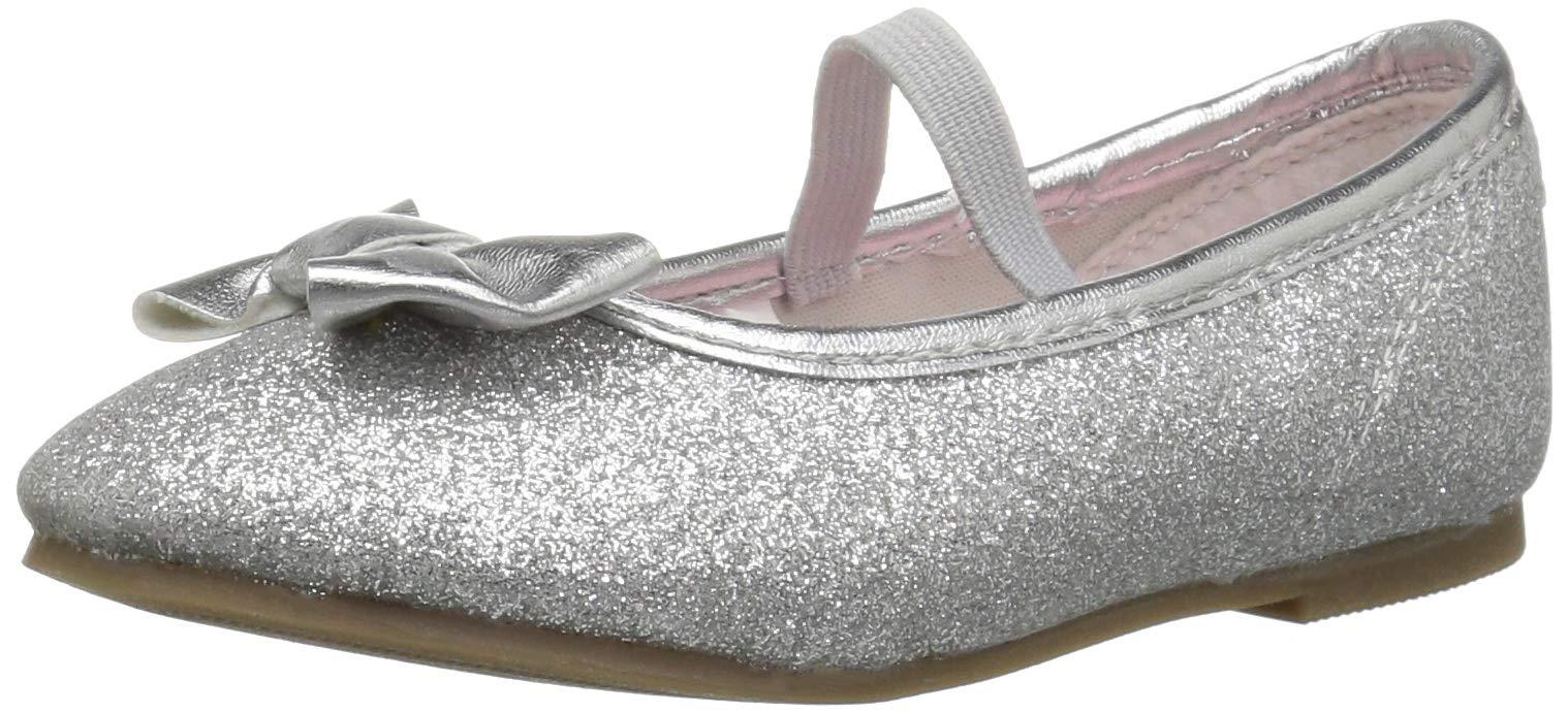 Carter/'s Kids/' Fiji2 Girl/'s T-Strap Ballet Flat