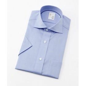 【SALE(三越)】<イムズ/IMZ> 形態安定/半袖色ドビーシャツ(ZMN513-250) 250スカイブルー 【三越・伊勢丹/公式】