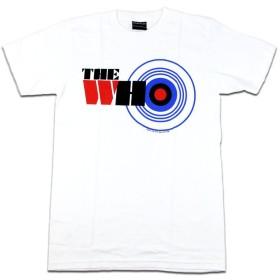 バンドTシャツ ロックTシャツ THE WHO ザ フー Lサイズ 白色
