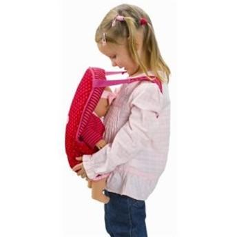 コロールCorolle Les Classiques Doll Accessories (Red/Fuchsia Baby Sling)