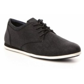 アルド メンズ スニーカー シューズ Men's Aauwen Lace-Up Sneakers Black Leather