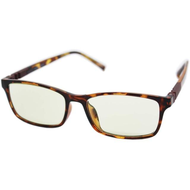 (エイトトウキョウ)eight tokyo RDTR6123-2+1.0 おしゃれ 老眼鏡 ブルーライト UV カット メンズ/レディース 兼用