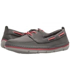 Clarks(クラークス) レディース 女性用 シューズ 靴 ボートシューズ Step Maro Sand - Dark Grey Textile 8.5 B - Medium [並行輸入品]
