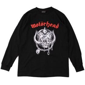 (ファーストライン) FIRST-LINE (W) モーターヘッド MOTORHEAD 1 BLK L/S(長袖)/長袖Tシャツ メンズ レディース L ブラック