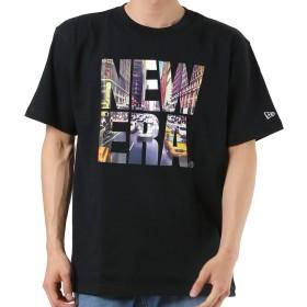 NEW ERA ニューエラ メンズ 半袖 Tシャツ CITY-LANDSCAPE 11474037BLK L