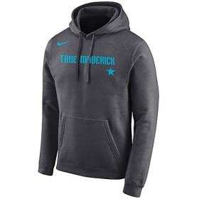 ナイキ メンズ パーカーDallas Mavericks Nike NBA City Edition Logo Essential PO Hoodie フーディー トレーナー Gray_S [並行輸入品]