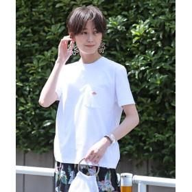 ビームス ウィメン DANTON / ポケット Tシャツ レディース 2/WHITE 36 【BEAMS WOMEN】