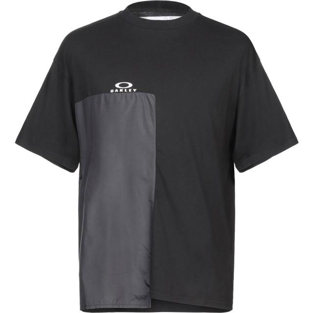 《期間限定セール開催中!》OAKLEY メンズ T シャツ ブラック M コットン 100%