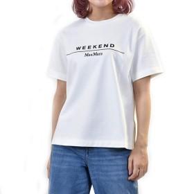 (マックスマーラ ウィークエンド) MAXMARA WEEKEND 半袖クルーネックTシャツ OLIATO 59710397 1 M ホワイト [並行輸入品]