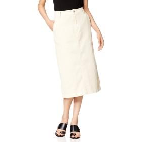 [ウィゴー] WEGO エクリュ カラー ナロー スカート FREE フリーサイズ ナチュラル レディース