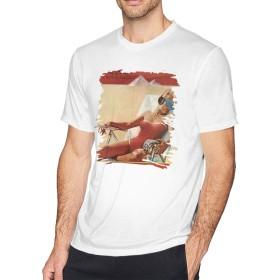 Tシャツ メンズ 半袖 おしゃれ Made In The Shade The Rolling Stones プリント 大きいサイズ ホワイト XXL