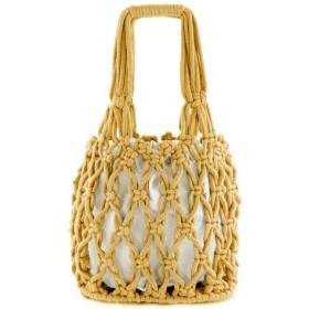 Kasitek小説ファッション綿織ハンドバッグソリッドカラーネットバッグカジュアルスタイルの女性のハンドバッグ