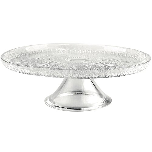 《EXCELSA》浪漫風情玻璃蛋糕架(21cm)