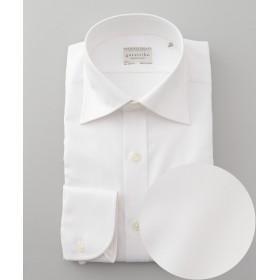 【オンワード】 gotairiku(ゴタイリク) 【形態安定】PREMIUMPLEATS ドレスシャツ /ヘリンボーン ホワイト 15H(39-85) メンズ 【送料無料】